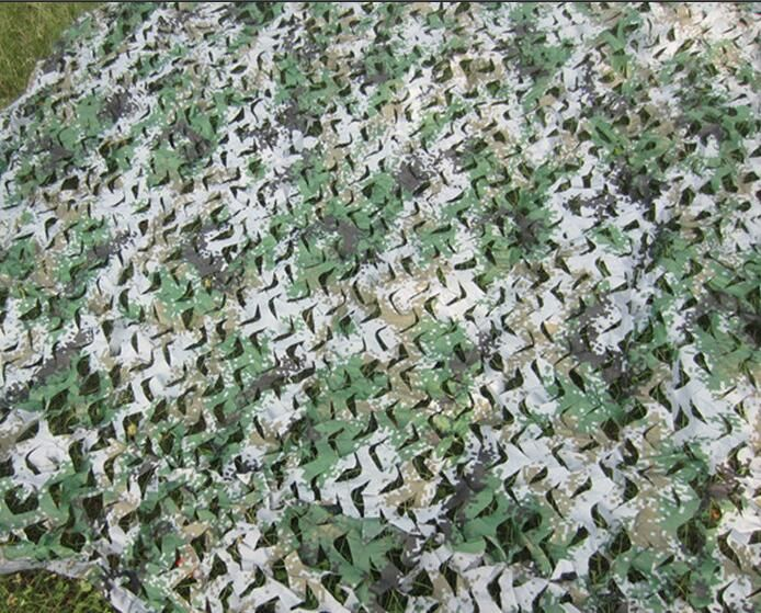 VILEAD 9 Colors 2M*10M Camouflage Netting Camo net camo tent cover for camping shelter Jungle Shelte tent greenhouse garden tent