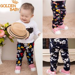 2018 bayi Perempuan dan bayi laki-laki kartun legging jatuh/musim dingin anak laki-laki hangat fashion celana bayi dan balita celana dijual 0-3 T Campuran co