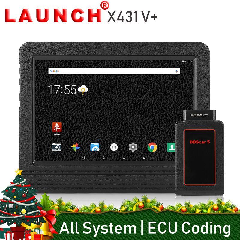 Launch X431 V Plus Car Diagnostic Scanner Diagnostics Auto Full System Diagnosis Professional Scan Tool Universal PK Autel MS906