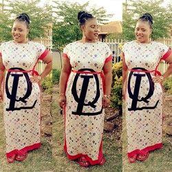 Nouveau mode 100% coton imprimer élastique manches lâche style dashiki bande longue robes pour dame/femmes