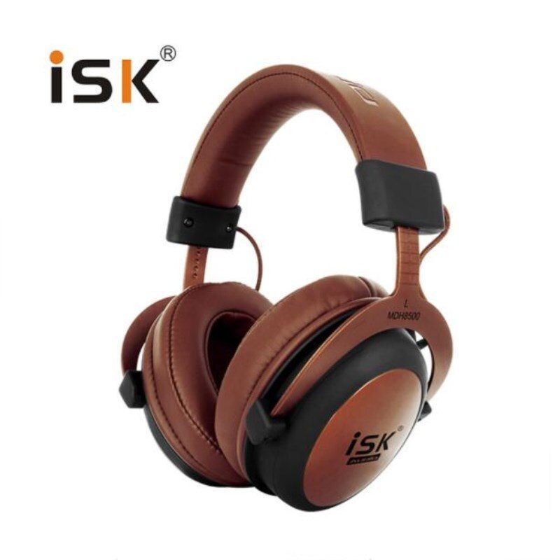 ISK MDH8500 Stereo Dynamic Headphone Closed Studio Monitor Recording Audio Earphone DJ Over Ear HiFi Headset Auriculares