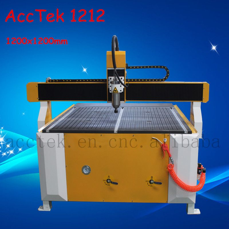 advertising cnc router vacuum table 3 axis moving automatic 3d wood carving cnc router 1212