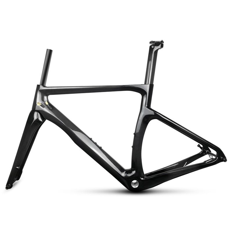 LN-OLA newly thru axle carbon road frame 3k 1k glossy matte road framest bb68 bb30 can customized paint LEADNOVO