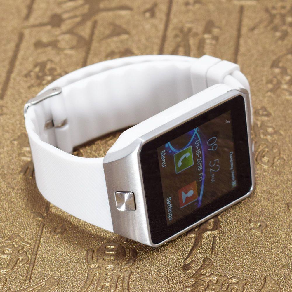 2016 G1 Bluetooth Smart Watch для Android Phone Support SIM/TF Мужчины Женщины Reloj inteligente наручные Спорт PK gt08 gv18 GT88