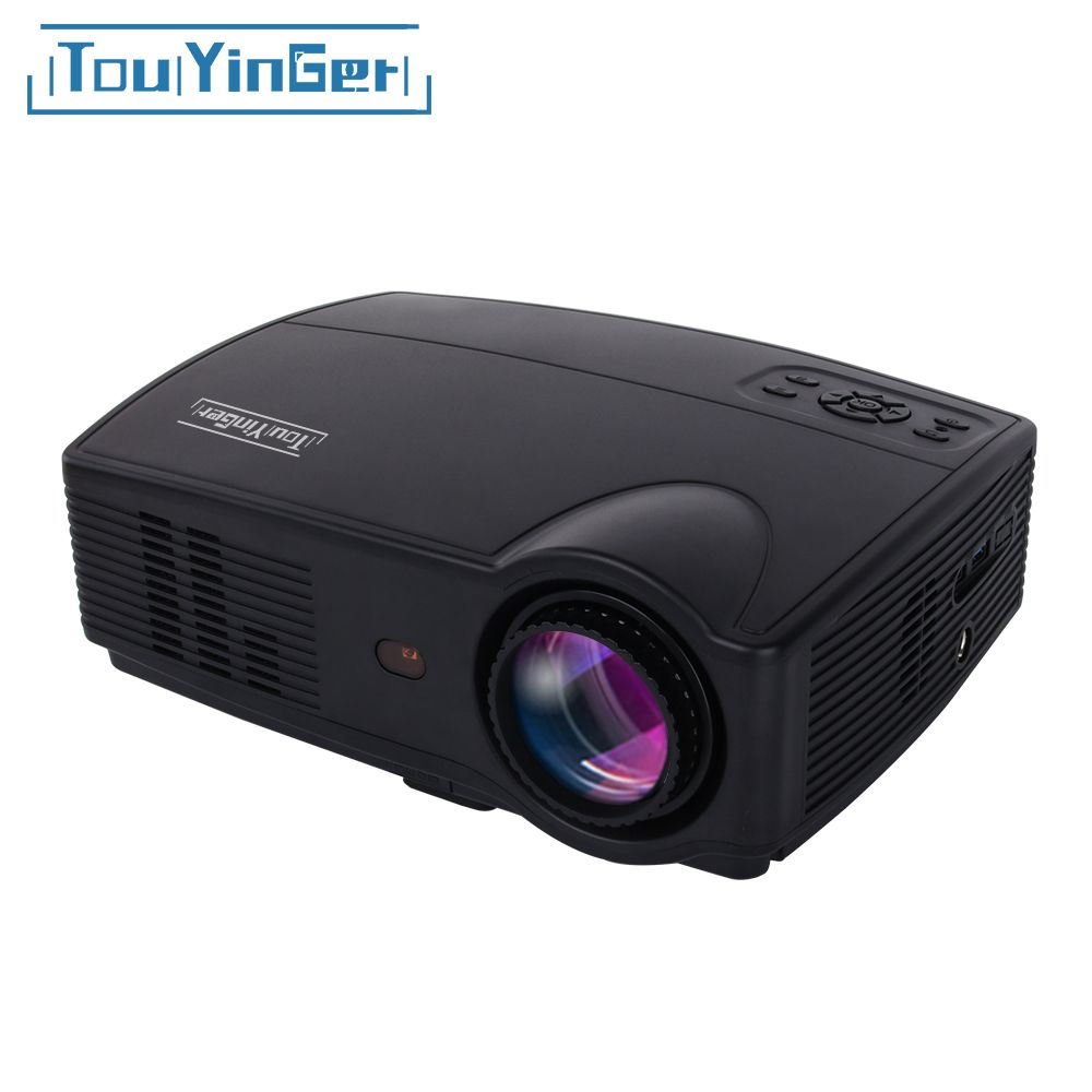 Touyinger Everycom X9 LED HD Projector 3500 Lumens Beamer 1280*800 LCD TV Full HD 4K Video Home Theater Multimedia HDMI /VGA/ AV
