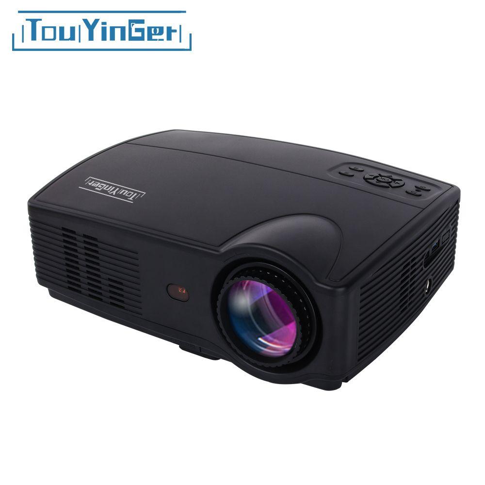 Touyinger Everycom X9 LED HD Projector 3500 Lumens Beamer <font><b>1280</b></font>*800 LCD TV Full HD 4K Video Home Theater Multimedia HDMI /VGA/ AV