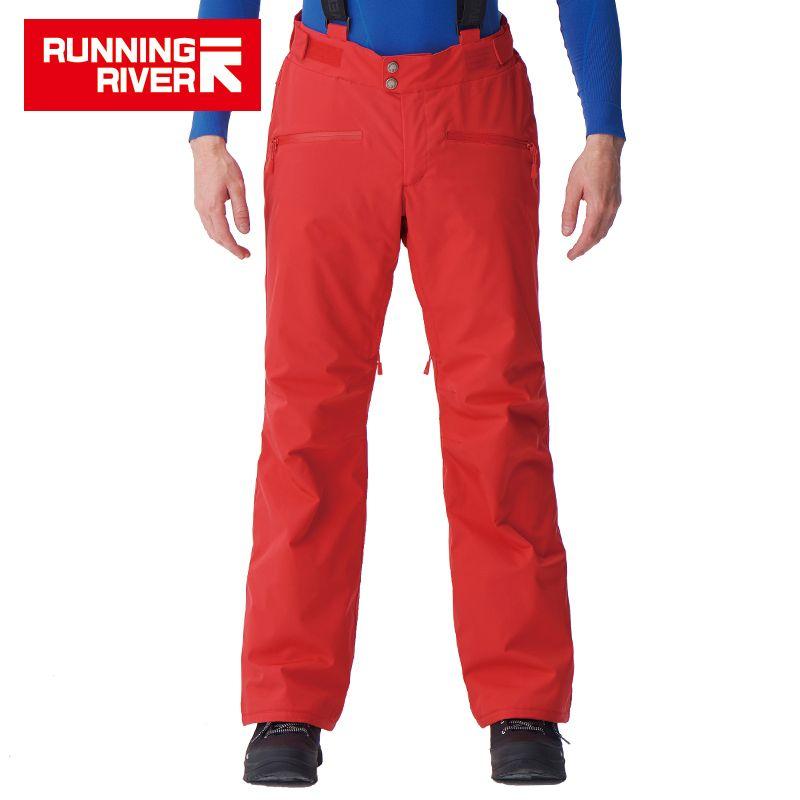 LAUF FLUSS Marke Männer Winter Ski Hosen Mit Schulter Riemen 5 Farben 6 Größen Schnee Hosen Für Skifahren Für Mann sport Hosen # B7095