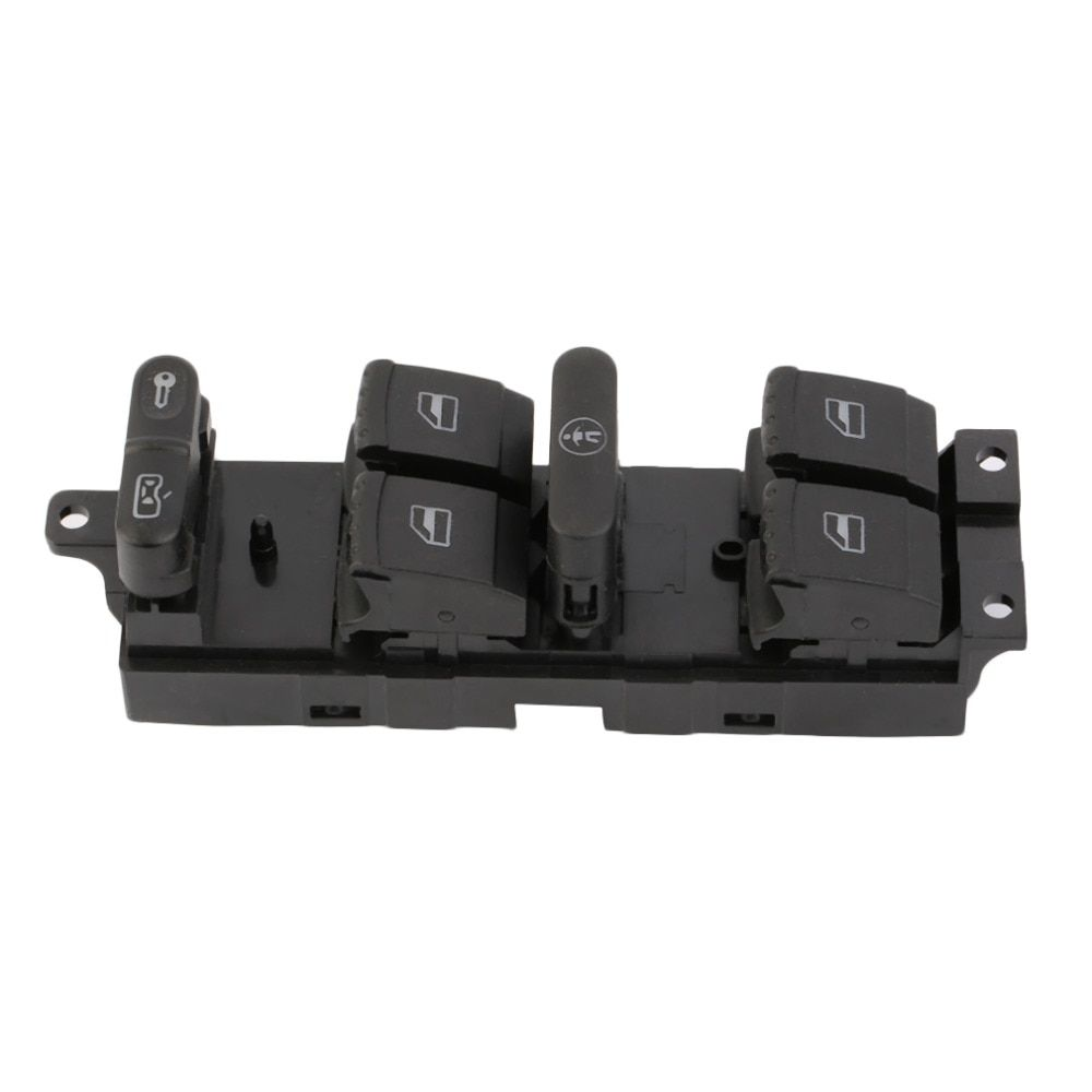 Newest Car Power Window Switch Panel Master Console Control Switch Windows Lock for VW for Volkswagen 1998-2004 B5/for Jetta Hot