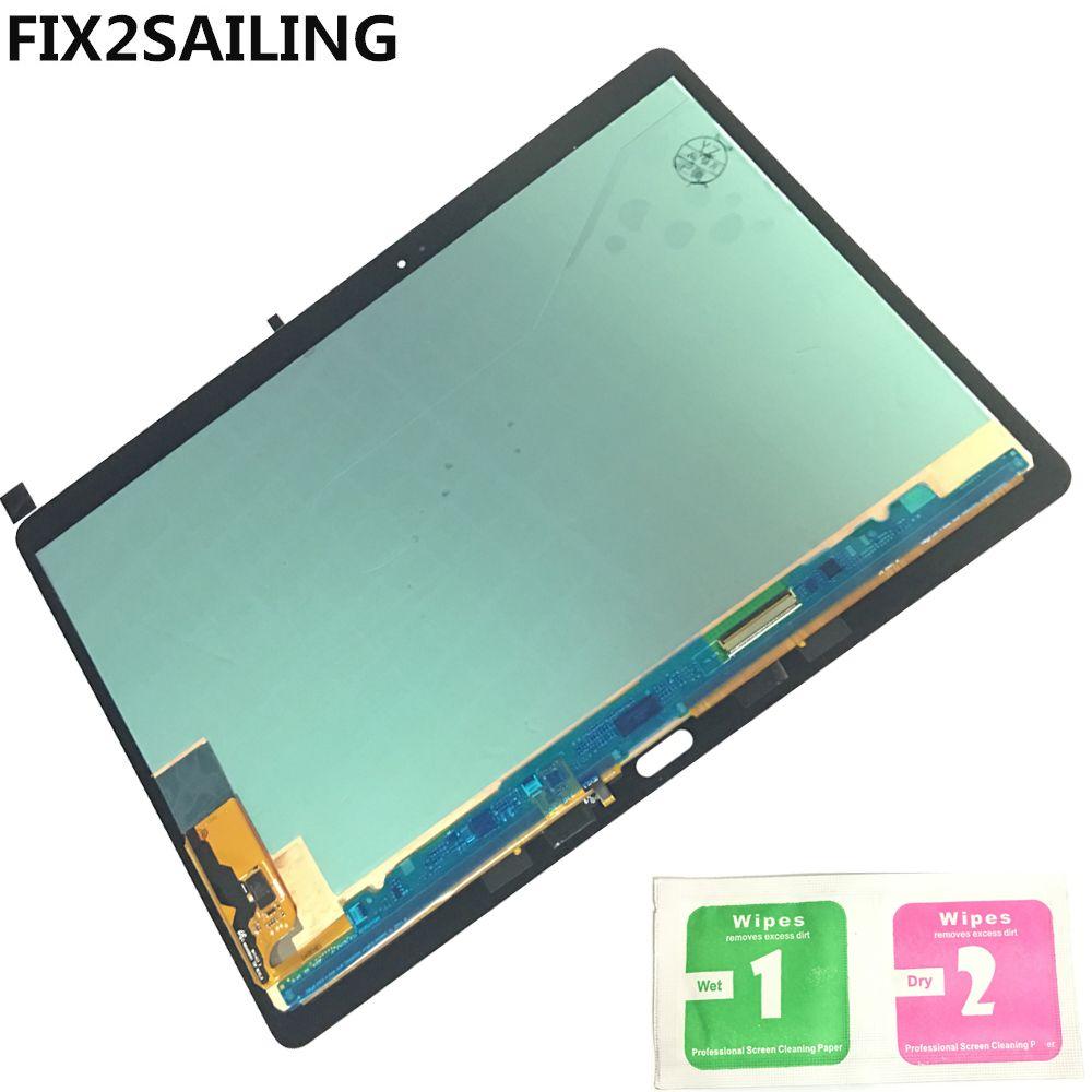 Original LCD Display mit Touchscreen Digitizer Sensoren Vollversammlung Panel Für Samsung GALAXY Tab S T800 T805 SM-T800 SM-T805