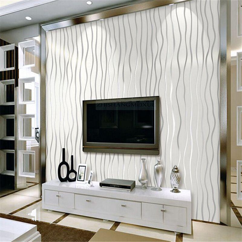 Beibehang dormitorio wallpaper salón de TELEVISIÓN de fondo de papel tapiz mural estereoscópica 3D wallpapers rollo flocado pared de papel