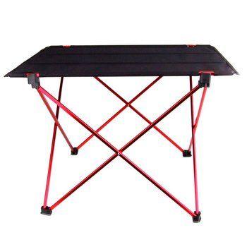 Portable Pliable Table Pliante Bureau Camping En Plein Air de Pique-Nique 6061 En Alliage D'aluminium Ultra-léger