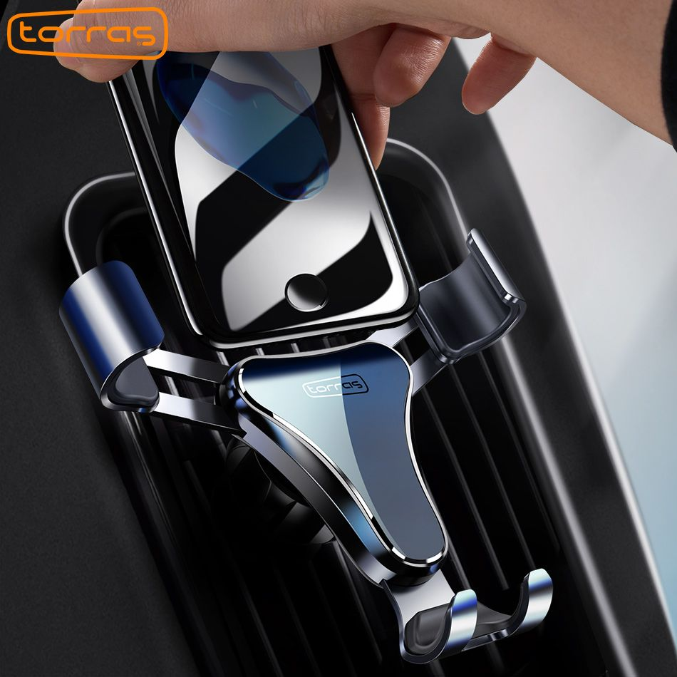 TORRAS Gravity Car Mount Stand Phone Holder <font><b>Windshield</b></font> Phone Holder Car Mount For iPhone For Samsung Universal Car Phone Holder