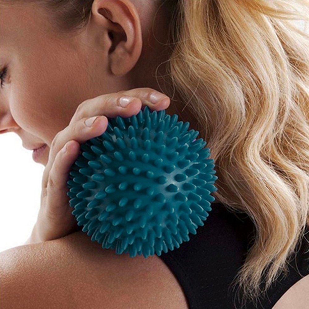 8.5cm Muscle Relaxation Pelvic Exercise Sports Fitness Foot Massage Ball Hedgehog Body Pain Stress Massage Relief Trigger Point