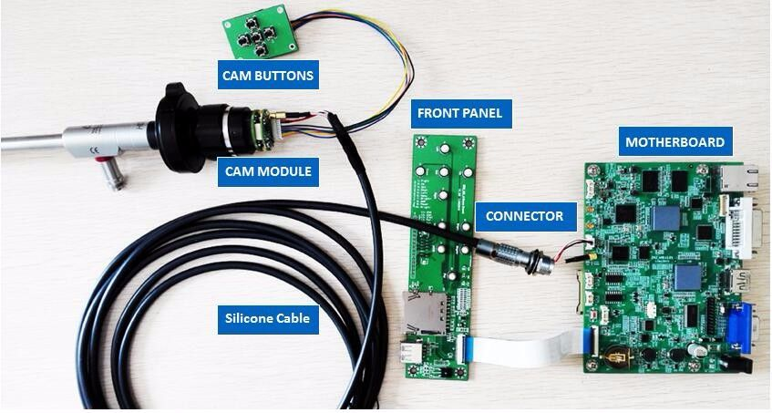 1080P60FPS FULL HD ENDOSCOPE MÉDICAL PIÈCES CAMÉRA RECORD PCB CONSEILS MODULE DE STOCKAGE USB CAPTURE, OEM LAPAROSCOPIE ent Arthroscopie