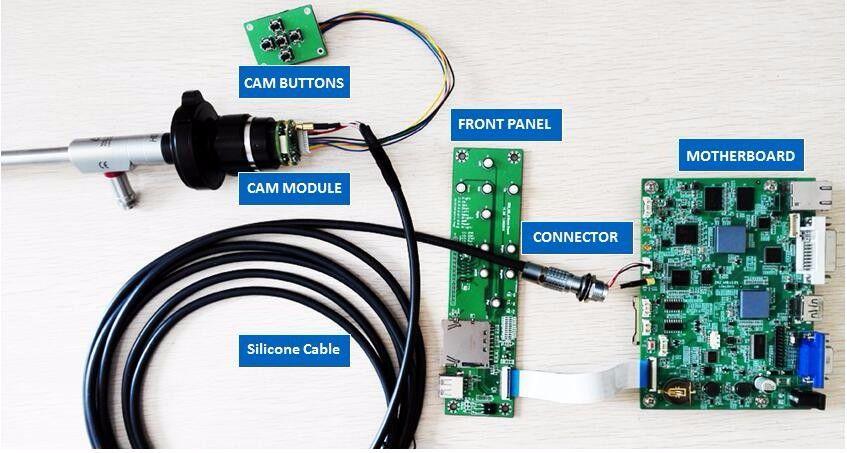 1080P60FPS FULL HD MEDICAL ENDOSCOPE PARTS CAMERA RECORD PCB BOARDS MODULE USB STORAGE CAPTURE,OEM LAPAROSCOPY ent Arthroscopy
