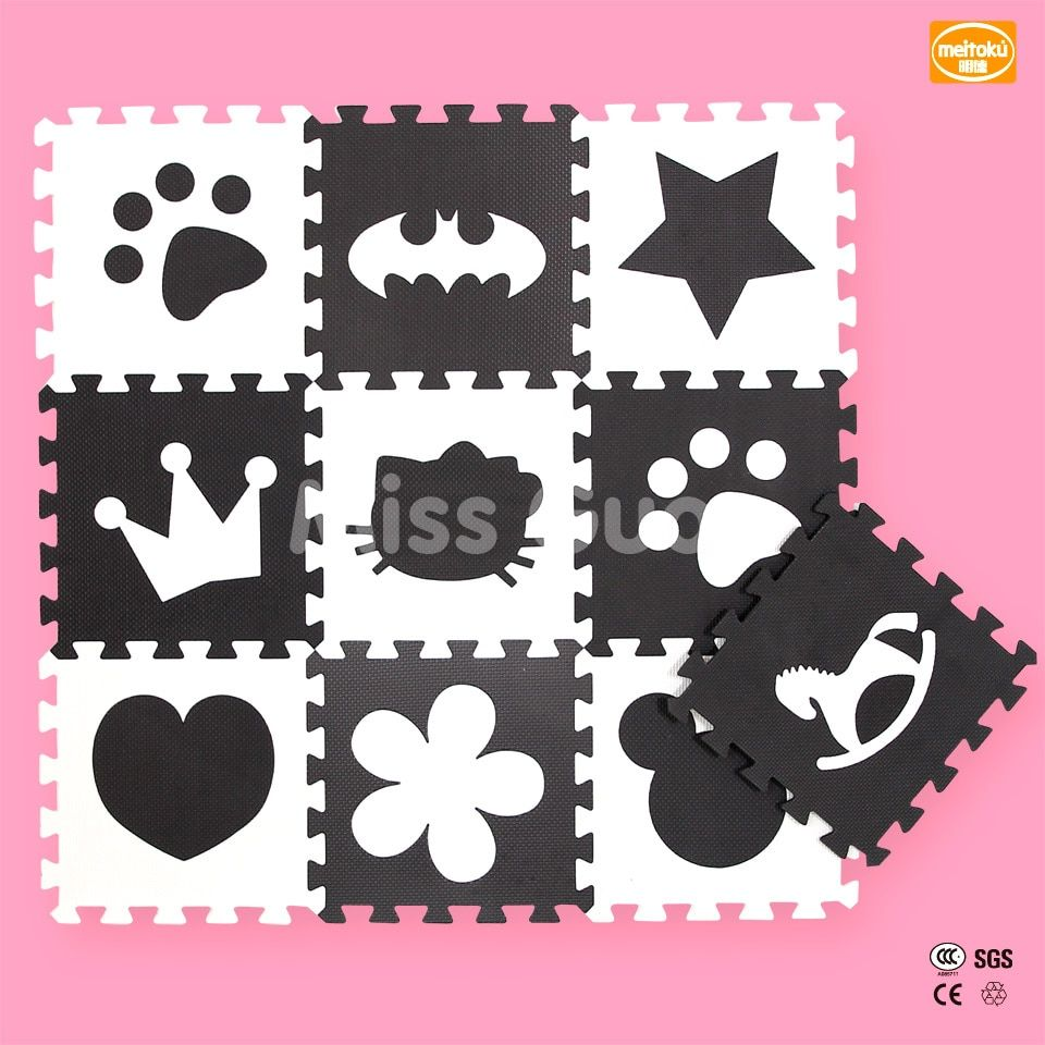 Children's Soft Developing Maps <font><b>Rugs</b></font> Baby Playmat Puzzle Number Letter Cartoon EVA Foam Carpet Kids <font><b>Rug</b></font> Floor Games Mickey Mat