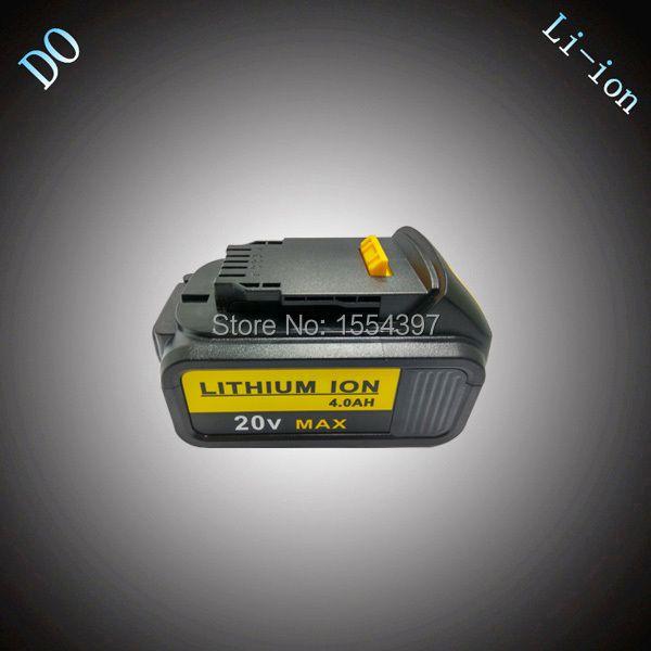 4000 mAh Rechargeable Lithium Ion Batterie D'outils Électriques de Remplacement pour DEWALT 18 V DCB180 DCB181 DCB182 DCB200 DCB201 DCB203 DCB204
