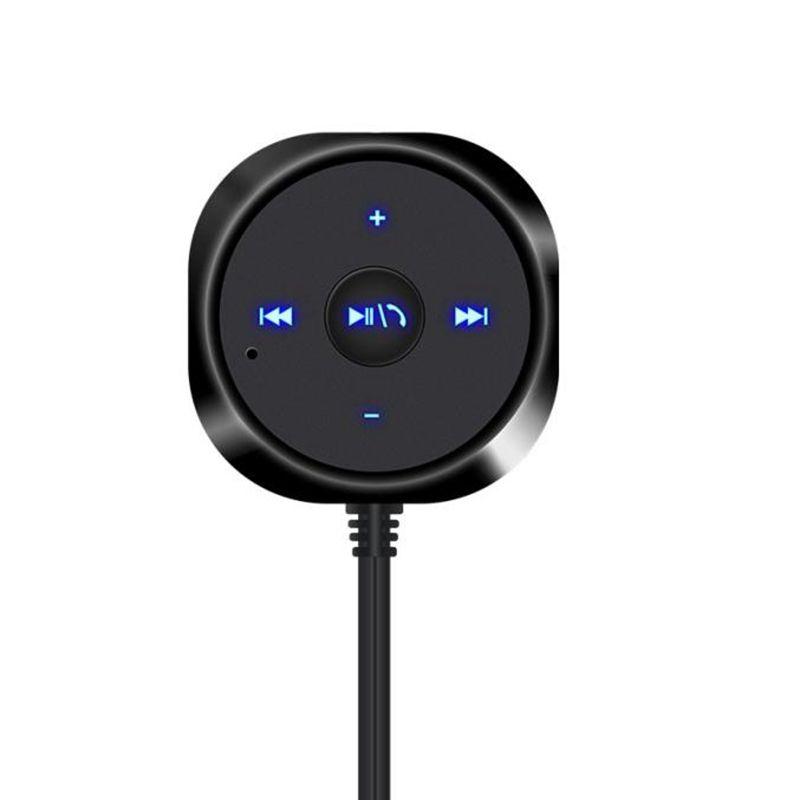 MP3 Music Player Bluetooth 4.0 Wireless Music Receiver 3.5mm Adapter Handsfree Car AUX Speaker@21207@@@