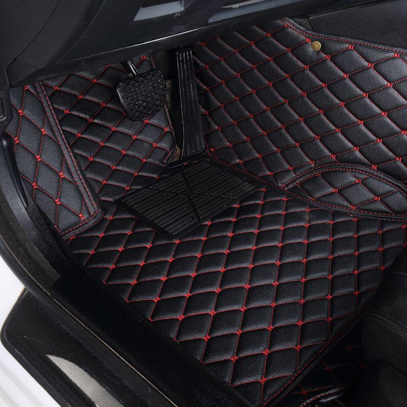 Auto auto boden Fuß matte Für volvo xc90 s60 v40 s40 xc60 c30 s80 v50 xc70 wasserdichte auto zubehör styling