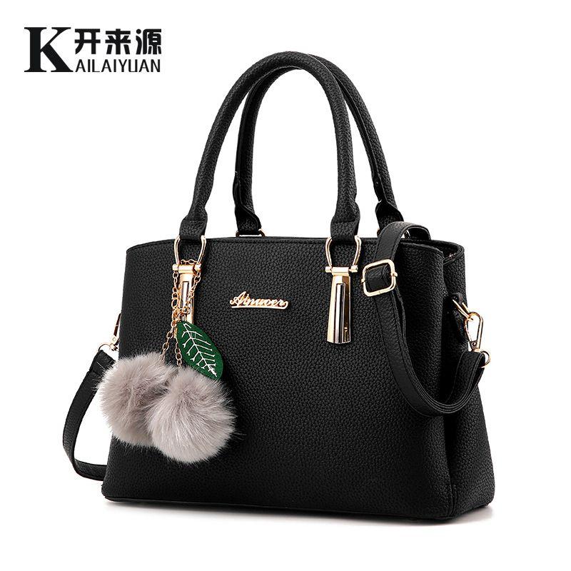 KLY 100% Echtem leder Frauen handtaschen 2018 Neue fashionista geprägte schulter taschen von westlichen stil air tasche Messenger Handtasche