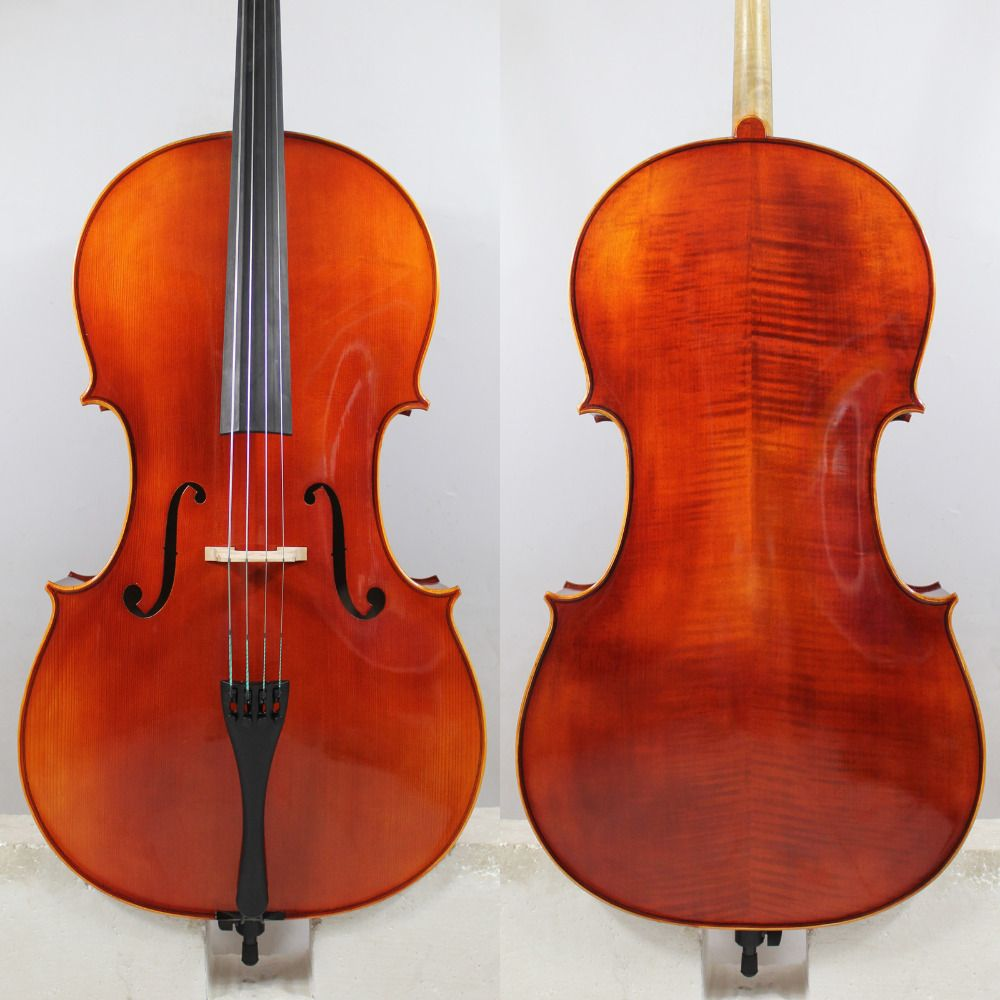 Copy of Antonio Stradivari 4/4 Cello All European Wood Best Model