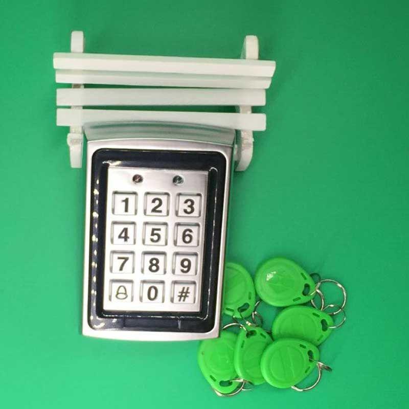 Бесплатная доставка Металл Близость RFID двери Управление Лер пароль клавиатуры доступ Управление системы + 125 кГц rfid keytag