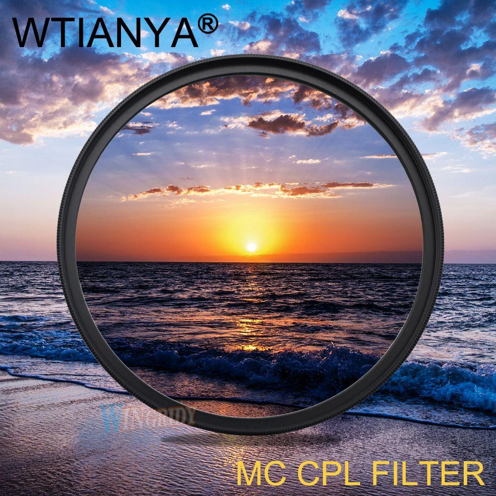 MC CPL filter Muti-coating Lens Filter DMC Lens Filter CPL For 30 37 40.5 43 46 49 52 55 58 62 67 72 77 82 86 95 105mm DSLR Lens