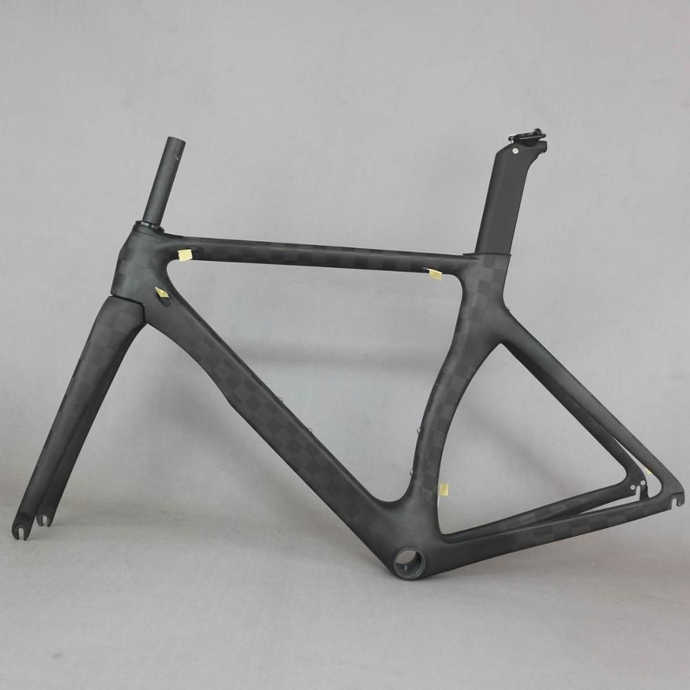 OEM produkte null gewinn Aero design Ultraleicht 18K carbon rennrad rahmen carbon fiber racing fahrrad frame700c akzeptieren malerei