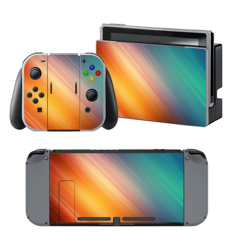 NS NX Accessories, Vinyl Skin Sticker for Nintendo Switch Console Protector Cover Decal Vinyl Skin for Skins Stickers 0061