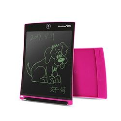 Howshow 8.5 Inch LCD Menggambar Tablet Digital Grafis Tulisan Tangan Papan Lukisan Menulis Touch Pad dengan Pena Stylus Tombol Sel
