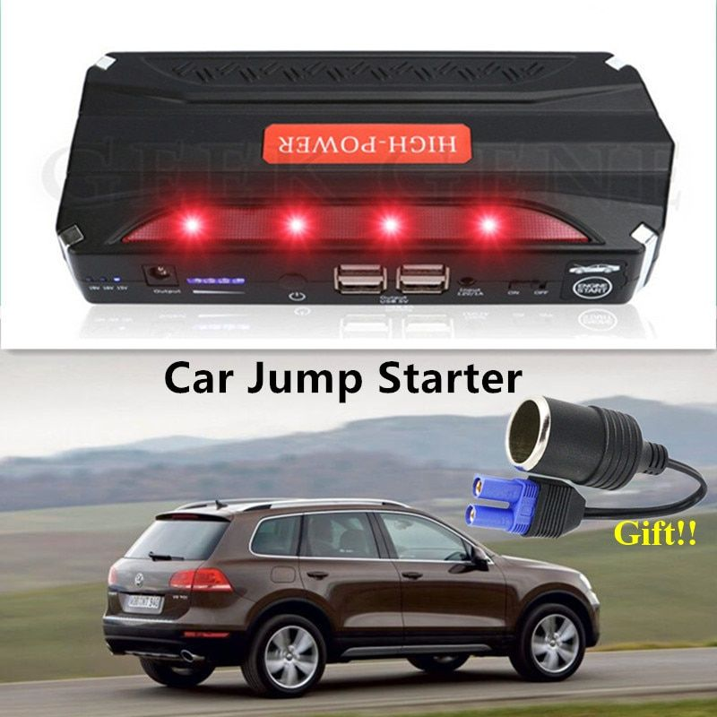 2017 Car Jump Starter 12V 600A Pack Car Charger For Car Battery Portable Starting Device Power Bank Mini Diesel Petrol Lighter