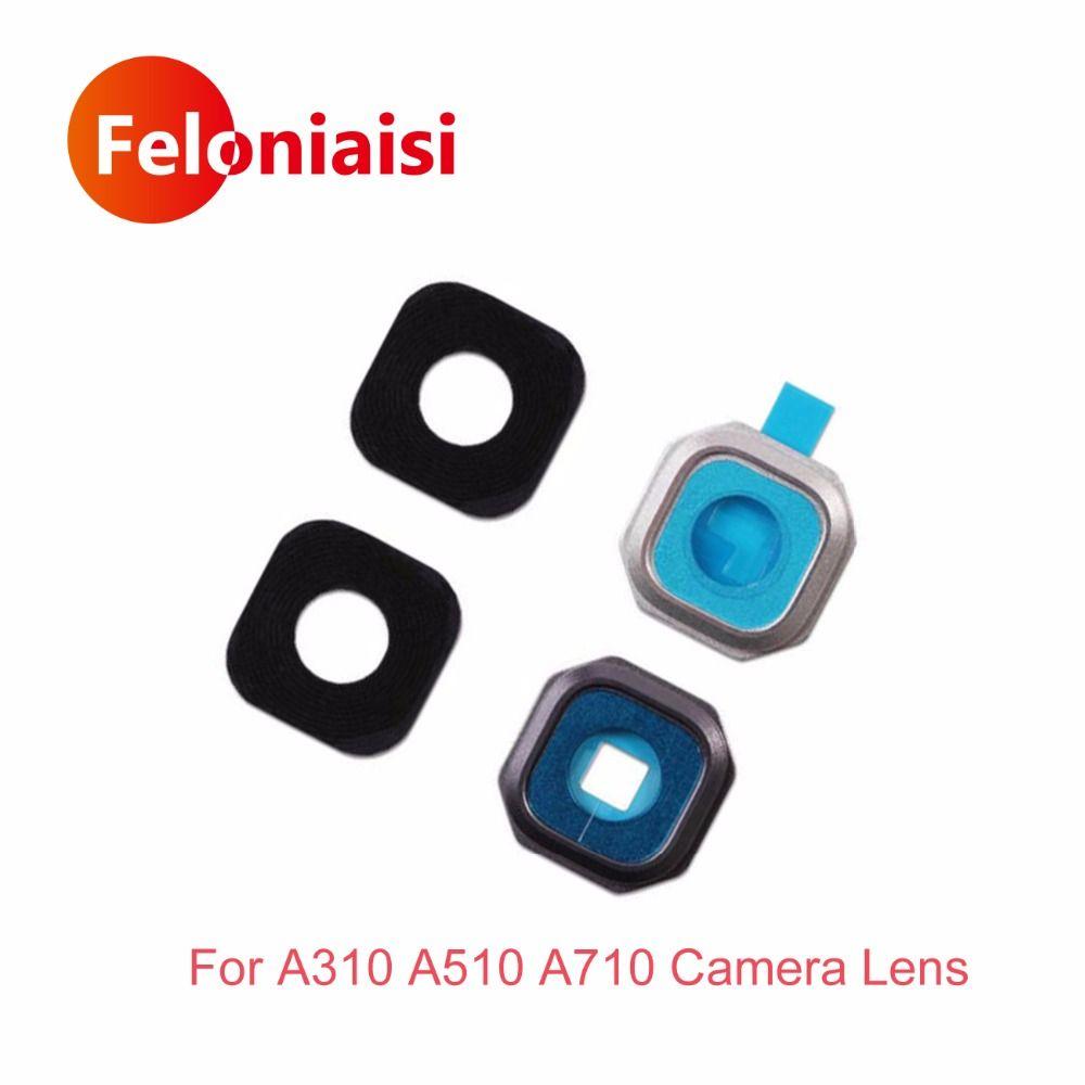 Für Samsung Galaxy A3 A310 A310F A5 A510 A510F A7 A710 A710F 2016 Zurück Rear Camera Lens Glas Mit Rahmen Halter