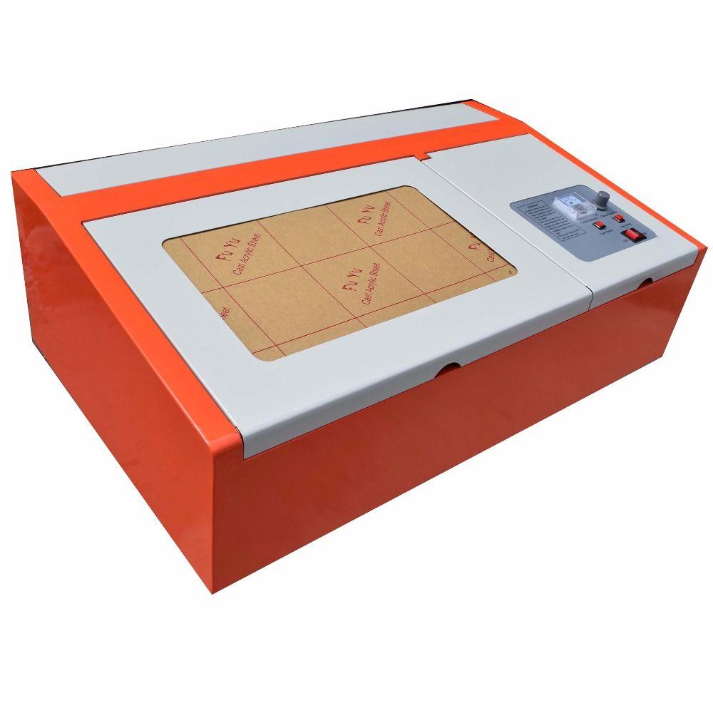 40 W CO2 USB Laser Gravur Schneiden Maschine 300x200mm Holz arbeits Handwerk beste