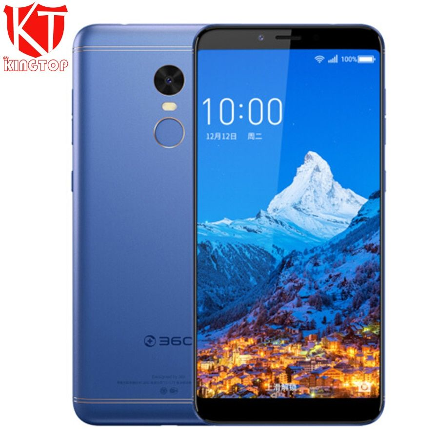 Original 360 N6 Mobile Phone 4GB RAM 64GB ROM Snapdragon 630 Octa Core 2.2GHz 5.93' Quick Charge 5030mAh Full screen smartphone