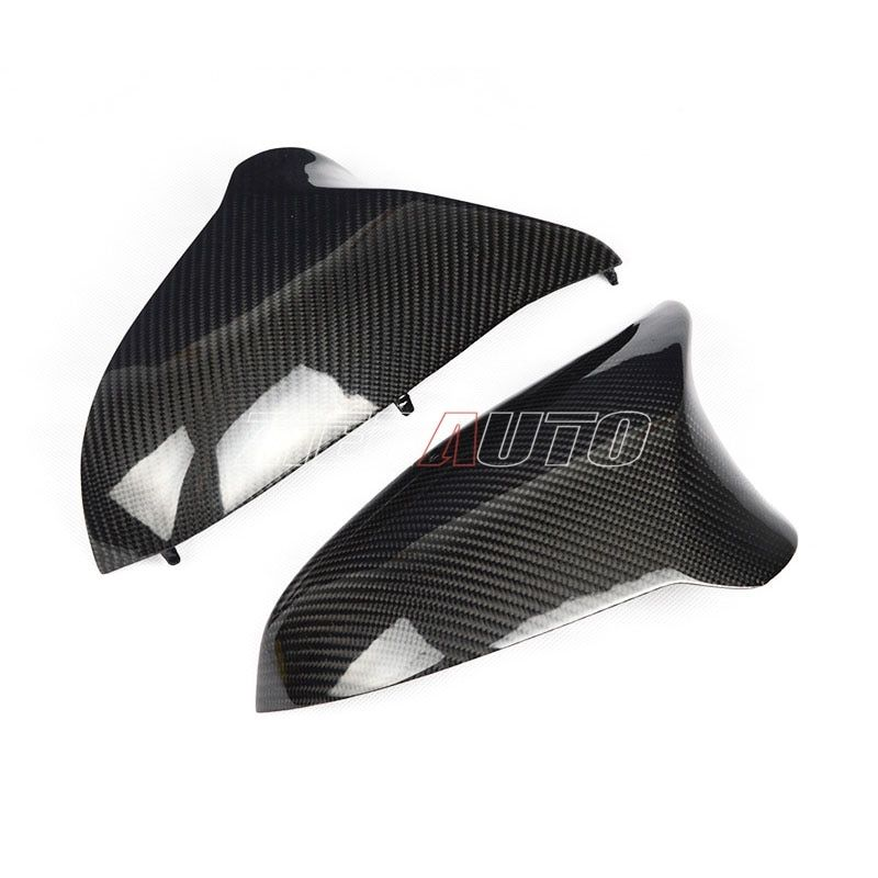 Real Carbon Fiber Mirror Cover For M3 M4 Replacement Rear View Mirror Caps For BMW M3 M4 F80 F82 F83 2014 2015 2016-UP