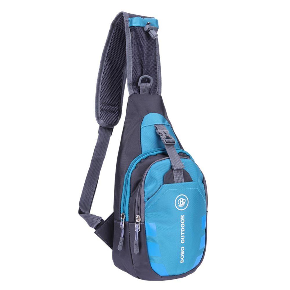 Unisex Oxford Brusttasche Outdoor-sportarten Reise Wandern Schulter-riemen-rucksack Tasche Funktionale Fanny Handy Tasche
