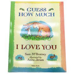 Libros Terbaik Gambar Buku Buku Cerita Bahasa Inggris pendidikan untuk anak-anak anak Bayi Cerita Pendek Menebak Betapa Aku Mencintaimu livros