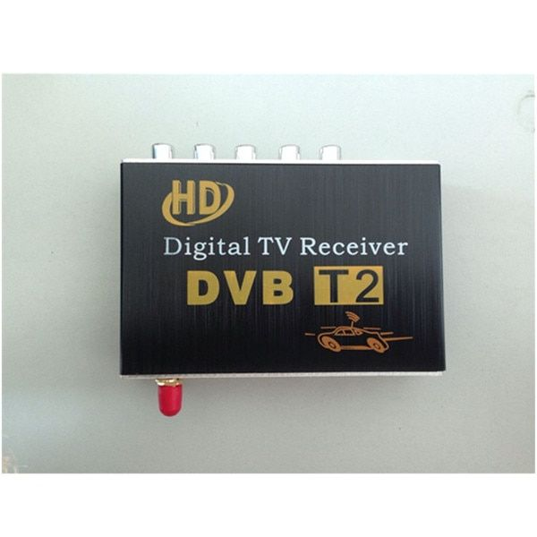 M-689 Car TV Tuner DVB-T2 Digital TV receiver Digital TV BOX Receiver Mini TV Box work in Russia, Colombia,Thailand