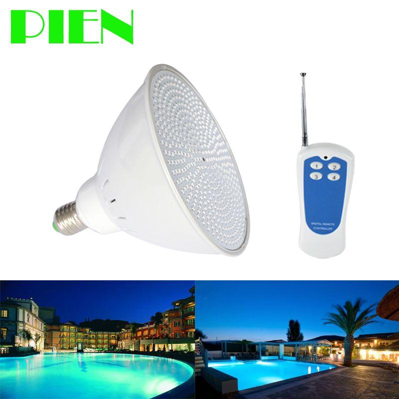 Par56 RGB LED piscine ampoule E27 12 V 120 V 220 V pour Pentair Hayward luminaire 18 W 24 W 35 W 40 W aquarium IP68 livraison gratuite