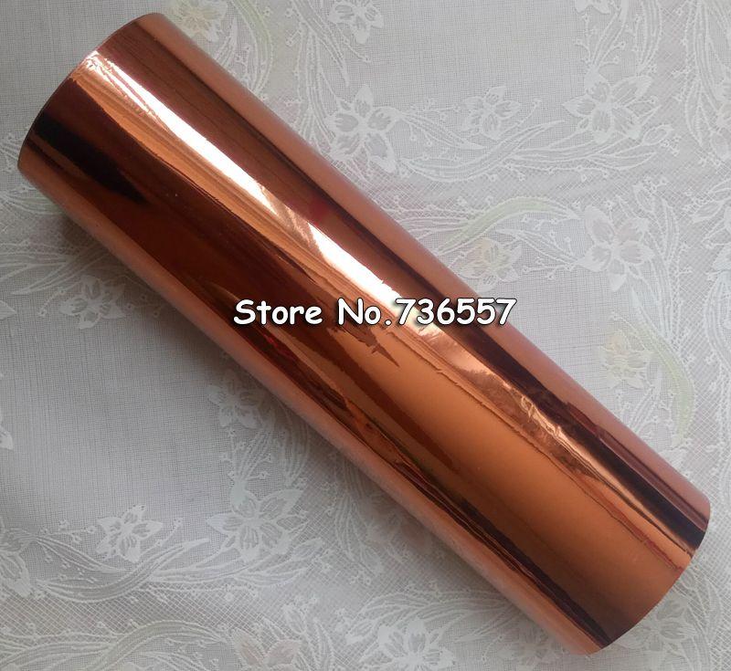 DIY Transfer Hot Stamping Paper High Quality Hot Selling Hot Foil Stamping Laser bronze Color 160mmx120M Heat Stamping Foil Film