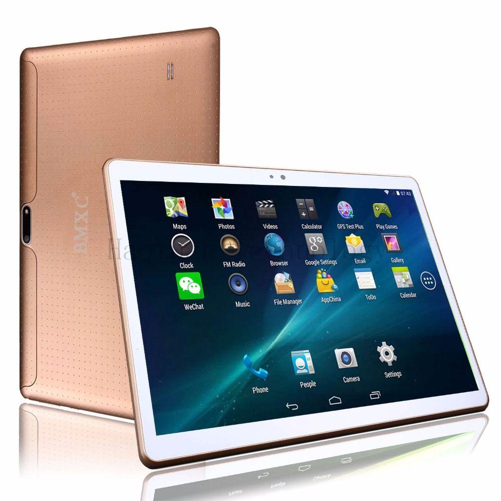 10 pouce MTK8752 Octa base Tablet PC smartphone 1920*1200 HD 4 gb RAM 64 gb ROM Wifi 3g WCDMA Mini android 7.0 GPS FM tablet + Cadeaux