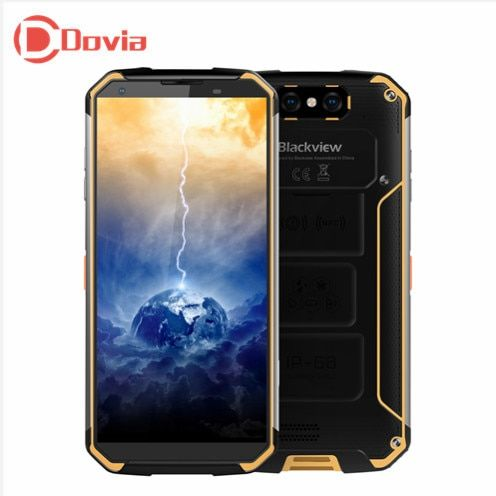 Blackview BV9500 4g Smartphone 5,7 Android 8.1 MT6763T Octa Core 2,5 ghz 4 gb + 64 gb 16MP + 16MP Dual Hinten Kameras 10000 mah Handy