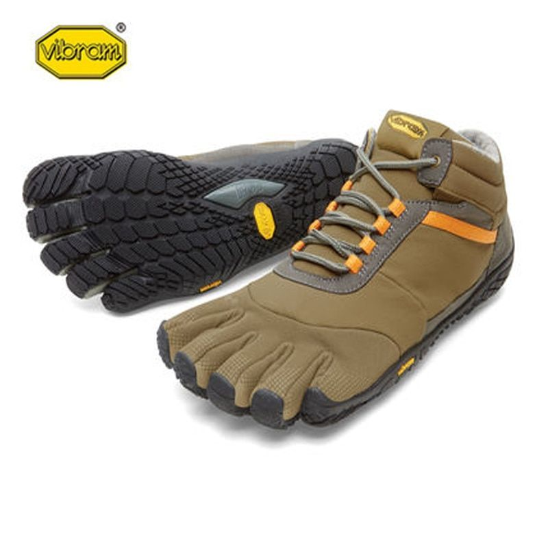 Vibram ICETREK sole for grip on outdoor Hot Sale Rubber with Five Fingers Slip Resistant Breathable Light weight Shoe for Men