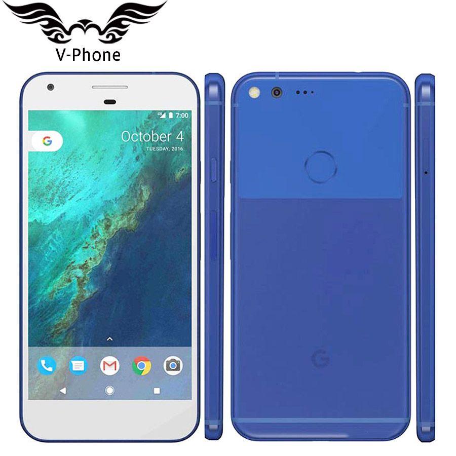 Original New EU Version Google Pixel XL 32GB 128GB GSM Mobile phone 5.5'' Snapdragon Quad Core 4GB RAM Fingerprint Android Phone