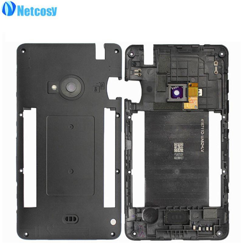 Netcosy Neueste Mittel Mid Plate Frame Lünette Gehäuse Abdeckung für Nokia lumia 625 N625 Mittleren Frame Günstige Replacemenrt Reparatur