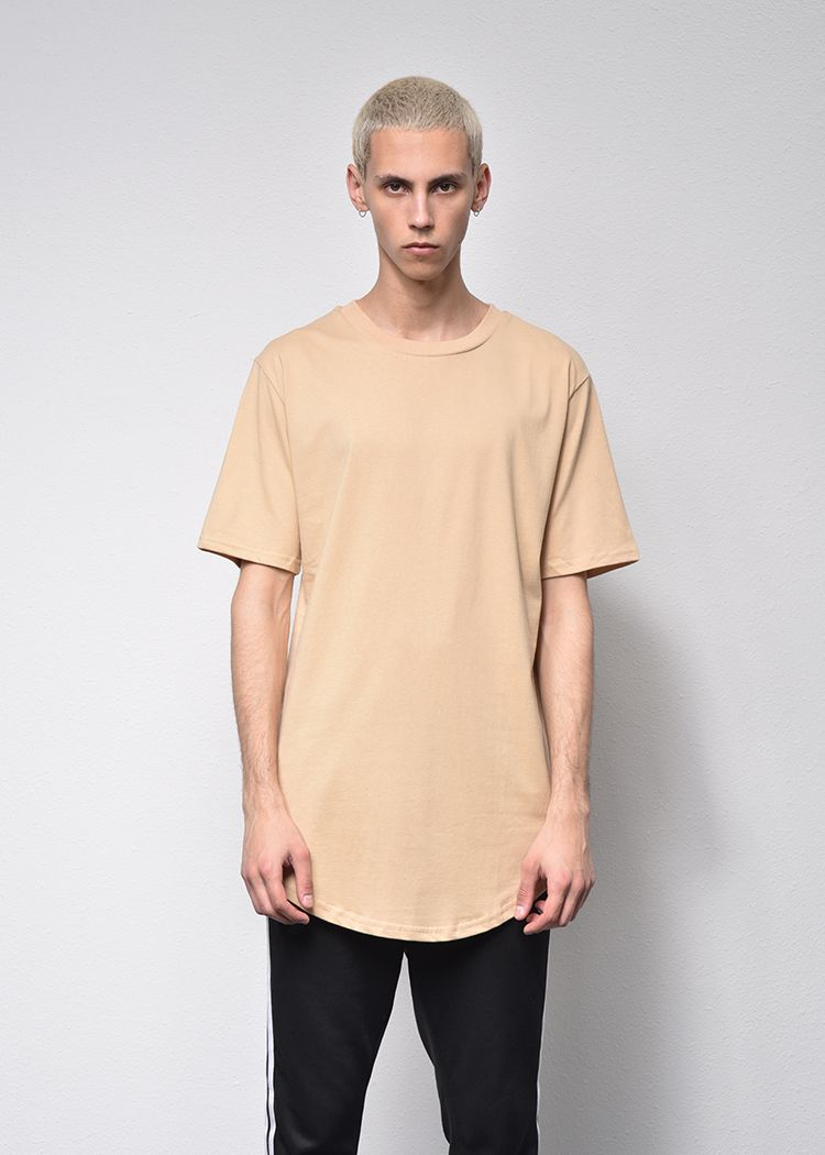 The 2018 pure cotton korean-style fashion T-shirt