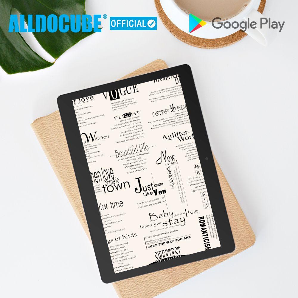 Alldocube M5XS 10,1 zoll 1200*1920 Dual 4G Telefon Tabletten PC MT6797 X27 Deca Core Android 8.0 3GB RAM 32GB ROM Dual Wifi GPS