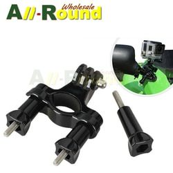 Hot Motorcycle Bike Handlebar Seatpost Mount Tripod Holder Adapter For Gopro HD Hero 4 3+ 4S 2 3 SJ4000 Xiaomi Yi Camera