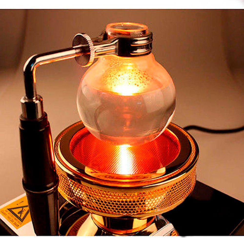 Hohe Qualität Neue 220 V Halogen Strahlheizung Brenner Infrarot-wärme für Hario Yama Siphon Kaffeemaschine