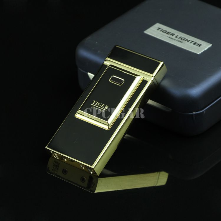 TIGER Windproof Electric Arc USB Charging Cigarette Cigar Lighter LC-96B